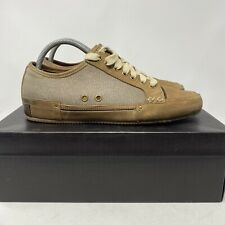 Cole Haan Nantucket Mens Size 8 M Olive Canvas Casual Oxford CO5291