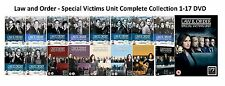 Law and Order Special Victims Unit Complete Series 1-17 DVD All Season UK Rel R2