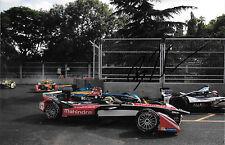 Bruno Senna SIGNED  Formula E  Team Mahindra , London E-Prix  June 2015