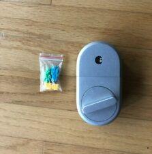 Silver August Smart Lock Asl-3B Deadbolt (Pre-owned)
