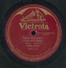 14pc78-Classical soprano in Italian-Victrola 66111 Maria Jeritza