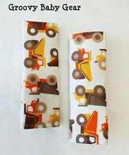 PRAM and CAR SEAT STRAP / BELT COVERS * Big Trucks - Free Post