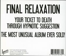 THE GOLDING INSTITUTE - FINAL RELAXATION   CD NEU