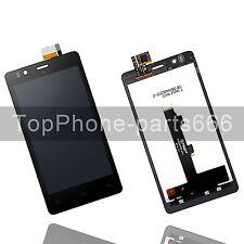 Para BQ Aquaris E5 5K0858 Pantalla LCD Táctil Digitalizador Asamblea Negro