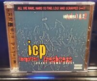 Insane Clown Posse - Forgotten Freshness vol. 1&2 CD set twiztid myzery icp abk