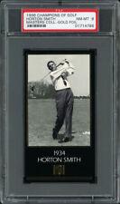 1997-98 GRAND SLAM VENTURES GOLF MASTERS GOLD FOIL #NN HORTON SMITH (1934) PSA 8