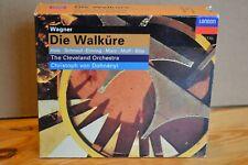 Christoph von Dohnanyi Wagner Die Walkure Hale Schnaut 1997 London 4xCD Box