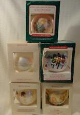 5 Five Vintage Hallmark Betsey Clark Ornaments Used in Original Boxes