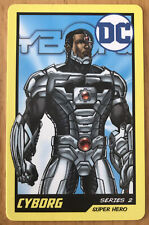 DC CYBORG CARD From Arcade Coin Pusher Game SERIES 2 SUPER HERO
