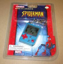Licensed By Nintendo Mini Classics Spider-Man Game Stadlbauer Keychain NEW