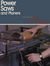Best of Fine Woodworking : Power Saws and Planers-ExLibrary