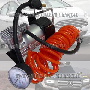 12v 150 PSI 5m Air Hose Heavy Duty Car Van 4x4 Tyre Air Compressor Inflator Pump
