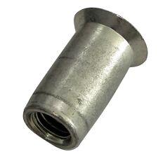 5x inserts à sertir M6 L17mm Ф9.1mm écrou rivet conique acier zingué
