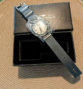 Heimdallr Sea Ghost Titanium Watch NEW!