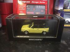 Minichamps VW GOLF MK1 Cabrio Amarillo 1/43 MIB Ltd Ed 1680 un.