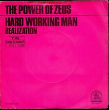 7inch THE POWER OF ZEUS hard working man HOLLAND NEAR MINT RARE (S0059)