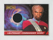 COMPLETE STAR TREK DS9 MICHAEL DORN AS WORF COSTUME TRADING CARD CC2