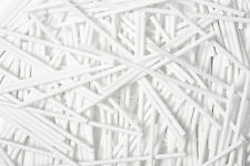 x13000 75mm x 4mm White Plastic Lollipop Sticks Cake Pop Sticks Bulk Wholesale