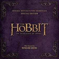 THE HOBBIT CD - DESOLATION OF SMAUG SOUNDTRACK [2 DISC SPECIAL EDITION] - NEW