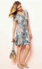 BNWT*NEXT* 10 (UK),  FLORAL PRINTED TEA DRESS, LIGHT DAY DRESS, GREY MIX
