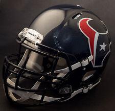 ***CUSTOM*** HOUSTON TEXANS NFL Riddell Full Size SPEED Football Helmet