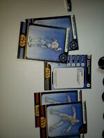 Lot of 8 Star Wars Miniatures Revenge of the Sith   Figures with cards
