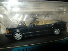 1:43 Minichamps Mercedes-Benz 300 CE-24 Cabrio mitternachtsblau/blue OVP