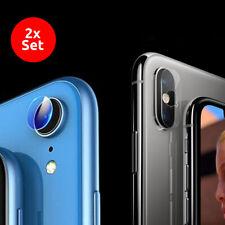 2x Panzerfolie iPhone Kamera Glas Linse Hinten Rückseite Schutz Glas Schutzfolie