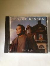 That's Right [Bonus Tracks] by George Benson (Guitar) (CD, Mar-2003, GRP (USA))