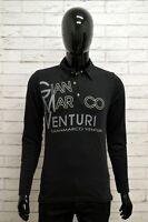 Polo GIANMARCO VENTURI Uomo Taglia Size M Maglia Maglietta Camicia Shirt Cotone