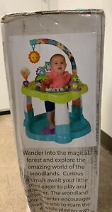 New, Creative Baby Woodland Activity Center. 360° Seat Spin. 3 Position Height