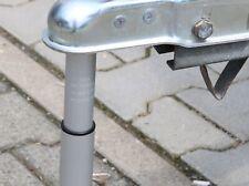 Deichselwaage Aluminium 100 kg mit Fuß Stützlastwaage Anhänger Wohnwagen Trailer