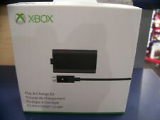New! Official Microsoft Xbox One Play & and Charge Kit Genuine Factory Sealed!