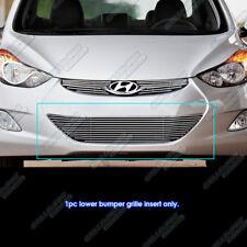 Fits 2012-2016 Hyundai Elantra Sedan Lower Bumper Billet Grille Insert