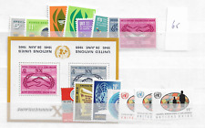 1965 MNH UNO New York year complete postfris**