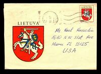 Lithuania 1993 Kaunasis CDS / Cacheted Cover - L11158