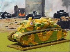 FCM CHAR 2 C 15 mm 1/100 - Matchlock Miniatures-Francese WW2-NUOVO KIT IN METALLO