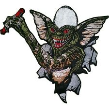 Gremlins Stripe Embroidered Patch Big for back Gizmo Mogwai 2 Poster Movie