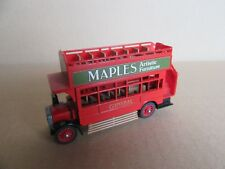 941G Matchbox Y23 AEC S Tipo Autobus Maples Doppio Decker