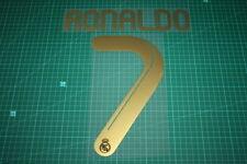 Real Madrid 11/12 #7 RONALDO Homekit / Awaykit Nameset Printing