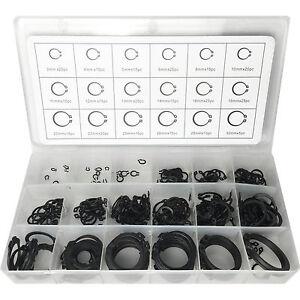 300 Piece Circlip Set External Retaining Circlips Cir Clip Snap Ring Assortment