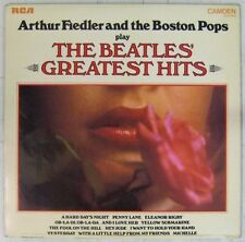 Interprètes Beatles 33 tours Arthur Fiedler & the Boston Pops Greatest Hits