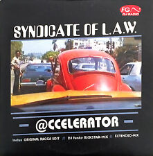 Syndicate Of L.A.W CD Single @ccelerator - France (EX/M)