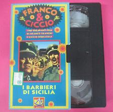 VHS film FRANCO & CICCIO I barbieri di sicilia 1995 IL SESTANTE (F67) no dvd