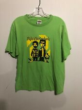 Lime Green Flight Of The Conchords Graphic T-Shirt Large