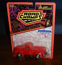Road Champs # 6420 Ford Truck Series 56 F100,1:43 Candy Apple Red