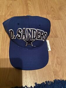 Deion Sanders 21 Dallas Cowboys Dem Boys Vintage STARTER SnapBack Hat Cap Blue