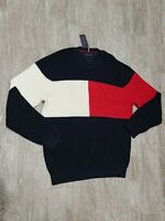 Tommy Hilfiger Crew Neck Pullover Sweater mens XXL New
