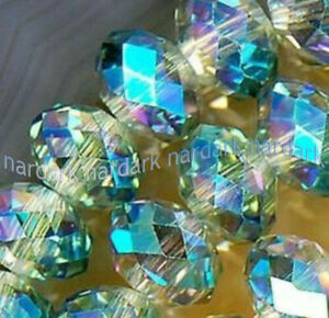 Wholesale 1000pcs 3x4mm 27 Colors Crystal Faceted Rondelle Gemstone Loose Beads