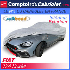 Housse Fiat 124 Spider - SoftBond® : Bâche de protection mixte